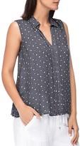 B Collection by Bobeau Star Print Sleeveless Shirt