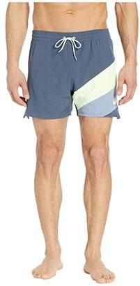 Nike 5 Optic Camo Mesh Signal Volley Shorts (Monsoon Blue) Men's Swimwear