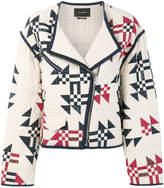 Isabel Marant Lazel quilted biker jacket
