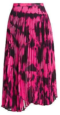 DELFI Collective Women's Clara Tie-Dye Pleated Skirt