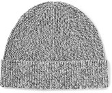 J.Crew Ribbed Mélange Cotton Beanie - Gray