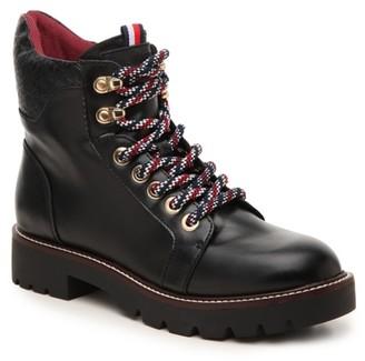 Tommy Hilfiger Leda Combat Boot