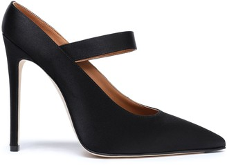 Victoria Beckham Solar Satin Mary Jane Pumps