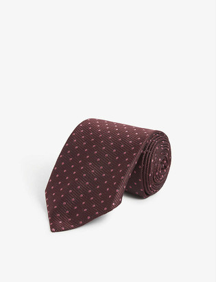 Tom Ford Polka-dot silk tie
