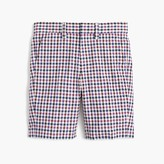 J.Crew Boys' Ludlow suit short in puckered gingham