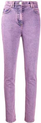 Balmain Logo-Patch Skinny Jeans