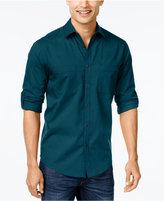 Alfani Men's Long-Sleeve Shirt, Classic Fit, Created for Macy's