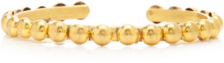 Sylvia Toledano Dots Gold-Plated Cuff