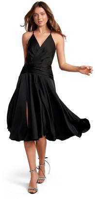 Forever New Gretchen Wrap Asymmetric Hem Maxi Dress