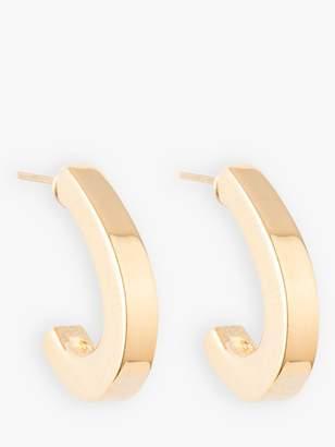 Susan Caplan Vintage Nina Ricci Gold Plated Hoop Earrings, Gold