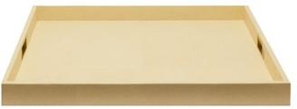 AERIN Renata Shagreen Tray - Cream