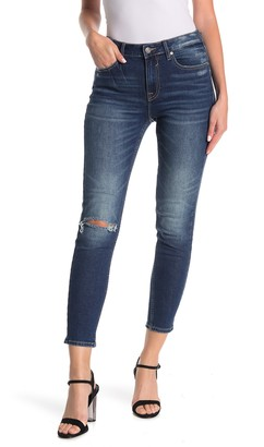 Vigoss Ace High Waisted Distressed Skinny Jeans