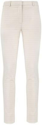 Klaudia Karamandi Galena Paisley Slim-Fit Trousers