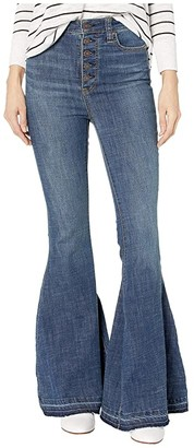 Free People Irreplaceable Flare (Blue) Women's Jeans