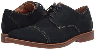 Clarks Atticus Cap (Tan Leather) Men's Shoes