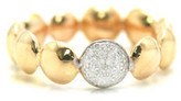 Tresor Collection - Lente Ring With Diamond Accent In 18K White Gold 7861615880