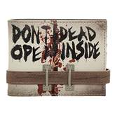 Bioworld Walking Dead Don't Open Bi-Fold Wallet