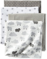 Carter's 4-Pk. Sheep Cloud Blankets, Baby Girls or Baby Boys (0-24 months)