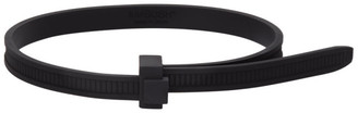 Ambush Black Zip Tie Bracelet