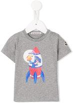 Moncler rocket print T-shirt - kids - Cotton/Spandex/Elastane - 3-6 mth