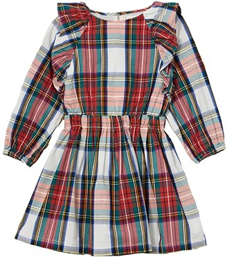 crewcuts by J.Crew Holiday Snowy Stewart (Toddler/Little Kids/Big Kids) (Ivory Multi) Girl's Clothing