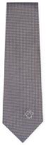 Versace Silk Checkered Tie