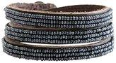Chan Luu EFI Seed Beaded Triple Leather Wrap Bracelet af-bsz-102 Allure