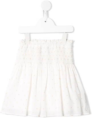 Chloé Kids Fil Coupe Skirt
