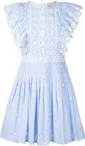 Sea pleated shirt dress - women - Cotton - 4