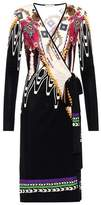 Etro Printed wrap-style dress