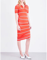 Topshop striped knitted dress