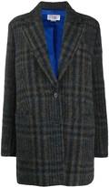 Thumbnail for your product : VVB Chaqueton plaid coat