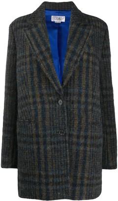 Victoria Victoria Beckham Chaqueton plaid coat