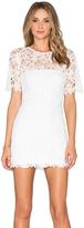 Karina Grimaldi Rudas Lace Mini Dress