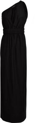 GAUGE81 Tokyo One-Shoulder Silk Dress