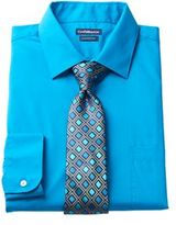 Croft & Barrow Men's Classic-Fit Stretch-Collar Dress Shirt and Patterned Tie Boxed Set