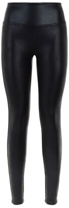 Spanx Pebbled Faux Leather Leggings