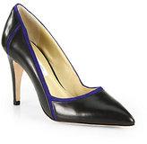 Diane von Furstenberg Iris Leather & Suede Pumps