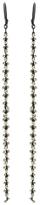 Ten Thousand Things Long Sterling Bead Earrings