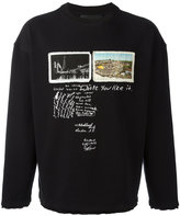 Blood Brother Hope sweatshirt - men - Cotton - XS