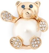 Cara Crystal Teddy Bear Pin