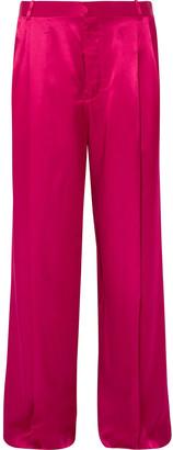 Givenchy Satin Wide-leg Pants