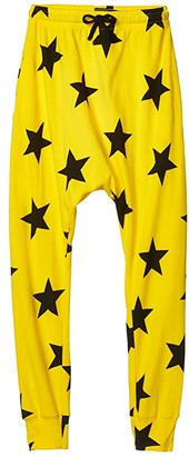 Nununu Star Baggy Pants (Little Kids/Big Kids) (Lava Yellow) Boy's Casual Pants