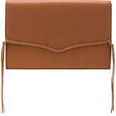 Rebecca Minkoff Panama Clutch in Brown.