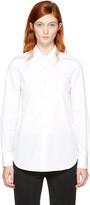 Maison Margiela White Slim Shirt
