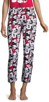 DISNEY MICKEY MOUSE Disney Mickey Mouse Jersey Pajama Pants-Juniors