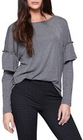 Sanctuary Women's Naomi Ruffle Sleeve Tee