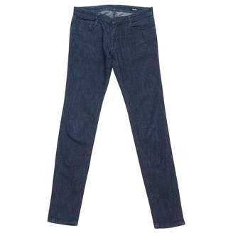 Miu Miu Blue Cotton - elasthane Jeans