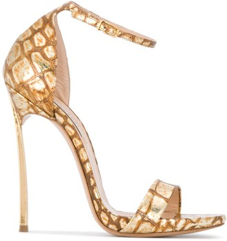 Casadei Techno Blade stiletto sandals