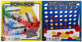 Four in a Row & Pop & Hop Game Set